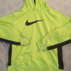 Yellow Nike pullover
